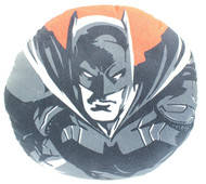 Justice League Batman Round Pillow-(Batman Face)