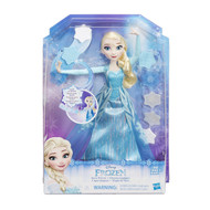 Disney Frozen Snow Powers Elsa Doll w/ Snowflakes