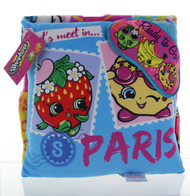 Shopkins Pillow, Throw & EyeMask Set