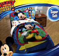 Mickey Mouse Clubhouse Twist Twin Comforter and Sheet Set