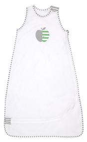Love To Dream Nuzzlin Sleep Bag, White, Small