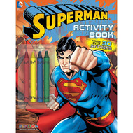 Costume Supercenter Superman Color And Activity Book