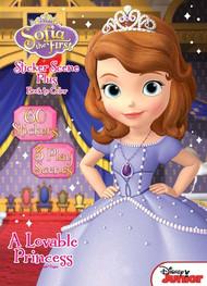 Sofia the First: A Lovable Princess Sticker Book