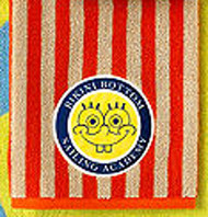 "SpongeBob Square Pants ""Set Sail"" Hand Towel"