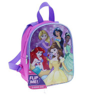 "Disney Princess 10"" Reversible Toddler Backpack"