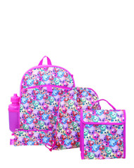 Shopkins Girls' 5 Pc Backpack Set