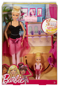 Barbie Careers Ballet Instructor Doll and Playset, Blonde