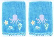 Kids Sierra Undersea 2-Pack Embroidered Bath Towel