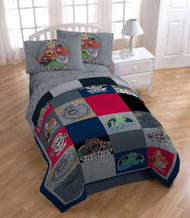 Muppets Vintage Silhouettes Twin-Single Bed Comforter