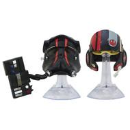 TIE FIghter Pilot and Black Leader Poe Dameron Helmets