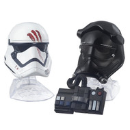 Finn and First Order Tie Fighter Pilot Helmets