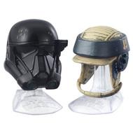 Death Trooper and Rebel Commando Helmets
