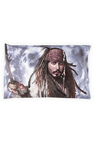 Pirates Of The Caribbean On Stranger Tides Jack Sparrow Johnny Depp Pillowcase