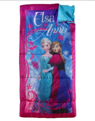 Disney Frozen Sleeping Bag Anna and Elsa