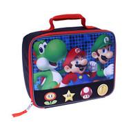 Nintendo Super Mario, Luigi and Yoshi Rectangular Lunch Bag