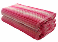 Pink Cabana Ombre Beach Towels - 2 Pack
