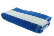 Light Blue Cabana Beach Towels - 1 Pack