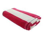 Pink Cabana Beach Towels - 1 Pack
