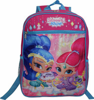 "Shimmer and Shine Girl's 15"" Backpack"