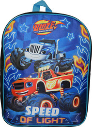 """Blaze And The Monster Machine 15"""" Backpack"""