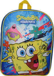 "Sponge Bob 15"" School Bag Backpack"