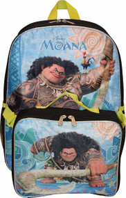 "Unisex Maui 16"" Backpack W/Lunch Box"