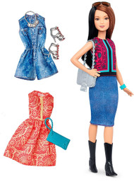 Barbie Fashionistas Doll & Fashions Pretty In Paisley