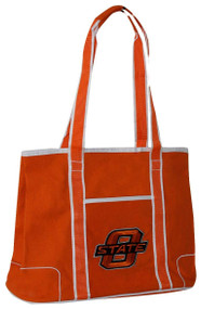 Oklahoma State Orange Hampton Canvas Tote Bag