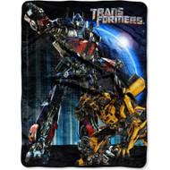 Transformers 46' x 60' Ready Defenders Micro Raschel Throw