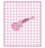 """Glee """"Gleeriffic"""" Fleece Throw Blanket"""