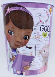 Disney Doc McStuffins Wastebasket - Good as New, Purple
