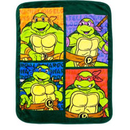 Teenage Mutant Ninja Turtles Toddler Blanket