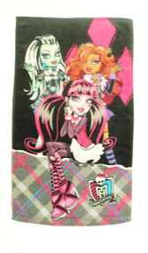 Monster High Cool Ghoul Hand Towel