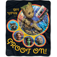 Guardians of the Galaxy GROOT Silky Soft Throw