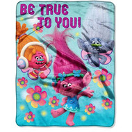 Trolls Kids DreamWorks Soft Throw Blanket