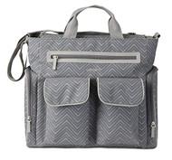 Carter's Cheron Print Tote Diaper Bag, Grey