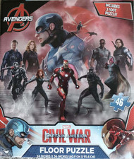 Marvel Captain America Civil War 46 piece Floor Puzzle