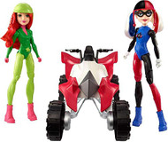 DC SUPER HERO GIRLS QUAD BIKE SET
