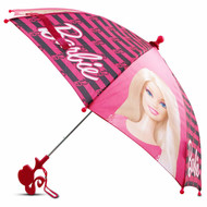 Mattel Little Girls Barbie Character Umbrella
