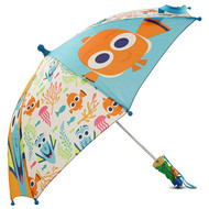 Little Girls Finding Nemo Character Umbrella