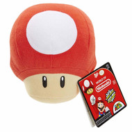 Super Mario Mushroom With Sound Plush Figure