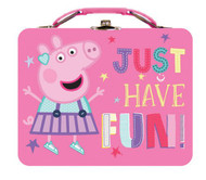 Peppa Pig Large Carry All Tin Lunch box