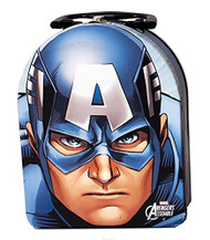 Marvel Avengers Captain America Shape Metal Tin Box