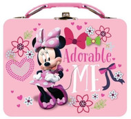 Disney Minnie Mouse Large Carry All Tin Lunch box- Adorable Me