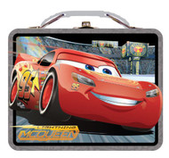 Disney Cars Carry All Embossed Tin Set - Lunch Box