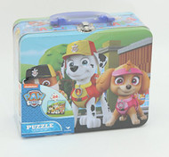 Paw Patrol 24-Piece Puzzle in Lunch Tin box