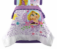 Tangled Dreams and Adventure Twin Comforter