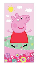 Peppa Pig Bath Towel- Pink