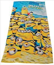 Despicable Me Minion Made Beach Towel