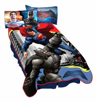 Batman Vs Superman Heroes Dual Blanket